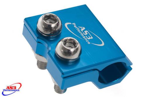 SUZUKI RM 80 85 2000-2004 RM 125 250 1993-2003 FRONT BRAKE LINE CLAMP BLUE