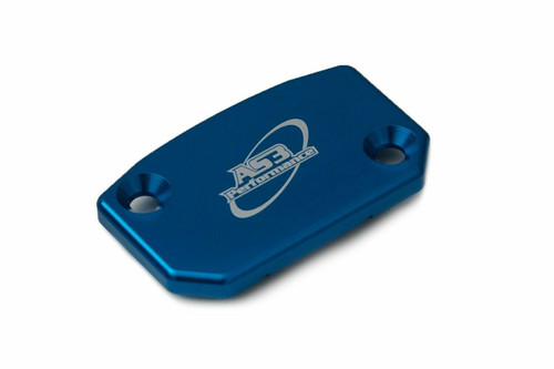 TM MX EN 125 144 250 300 450 530 2019-2020 AS3 FRONT BRAKE RESERVOIR COVER BLUE