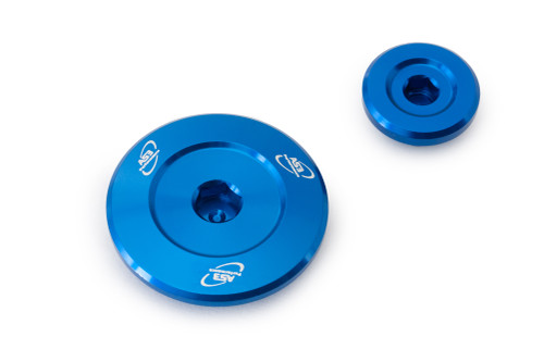 YAMAHA YZF 250 01-13 YZF 400 426 450 WRF 250 01-02 ENGINE PLUG KIT BLUE