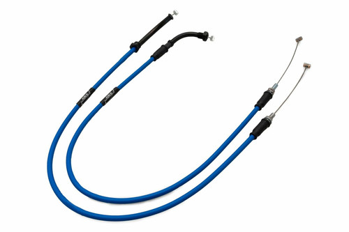 HONDA CB 500 1997-2003 AS3 VENHILL FEATHERLIGHT THROTTLE CABLES BLUE