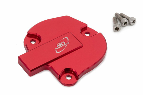 YAMAHA YFM 700 R RAPTOR 09-20 YFZ 450 R 10-20 AS3 ALUMINIUM THROTTLE COVER RED