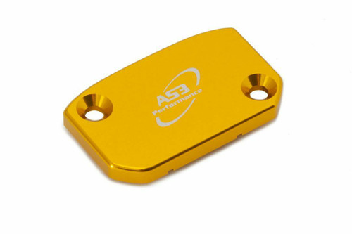 SWM RS 300 500 R 2020 AS3 PERFORMANCE FRONT BRAKE RESERVOIR COVER YELLOW