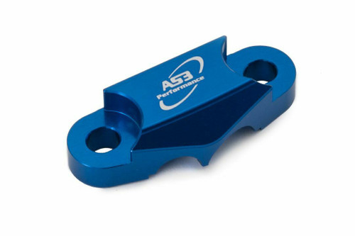 YAMAHA WRF 250 2020-2021 WR-F 450 2019-2021 AS3 FRONT BRAKE LINE CLAMP BLUE