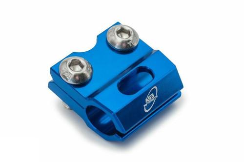 HONDA CR 80 85 1996-2007 125 250 1990-2003 CRF 150 R RB 2007-2022 AS3 FRONT BRAKE LINE CLAMP BLUE