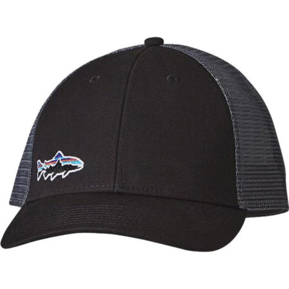 Small Fitz Roy Trout LoPro Trucker Hat Black ALL