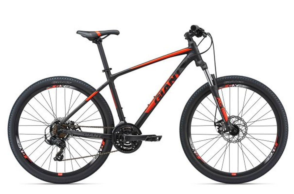 ATX 27.5 2 S Matte Black/Neon Red/Charcoal
