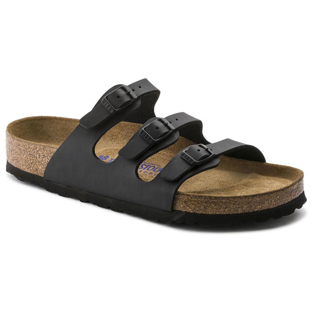 FLORIDA SOFT FOOTBED BIRKO-FLOR BLACK Regular