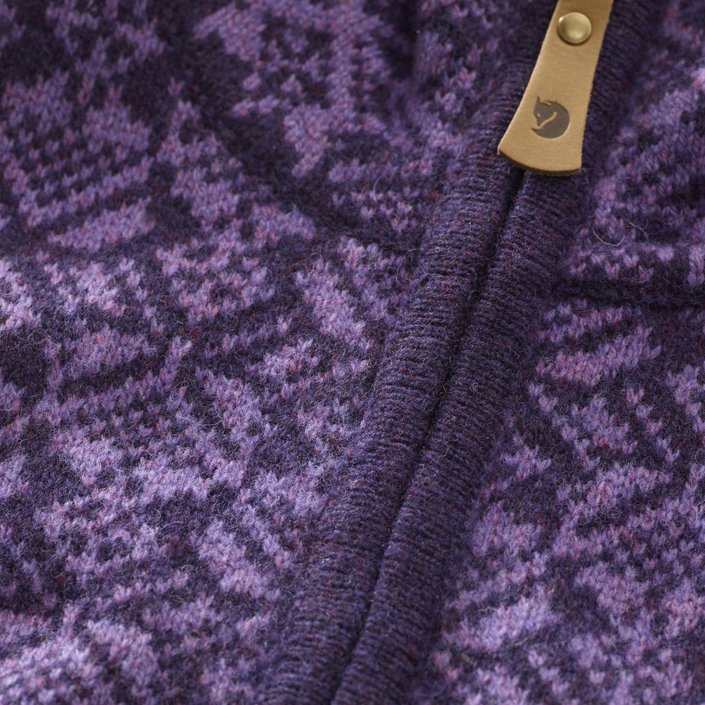 Snow Cardigan W Alpine Purple M