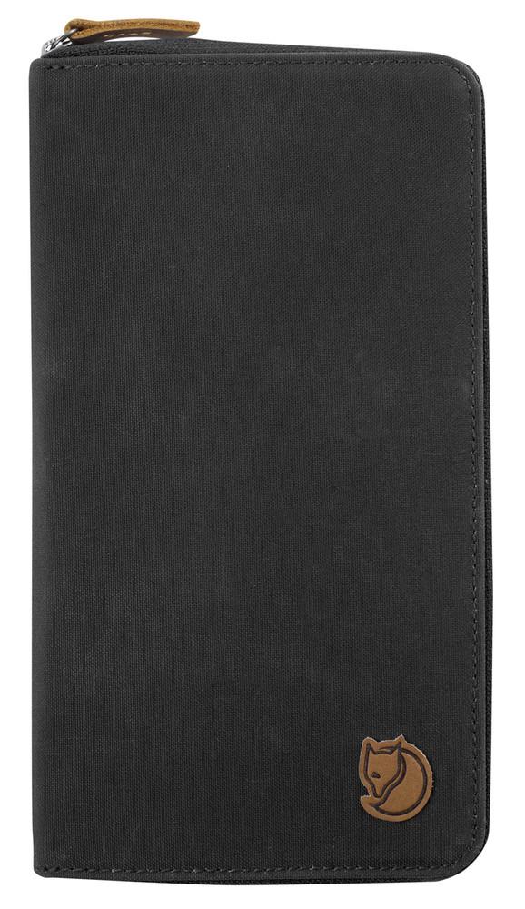 Travel Wallet Dark Grey N/A
