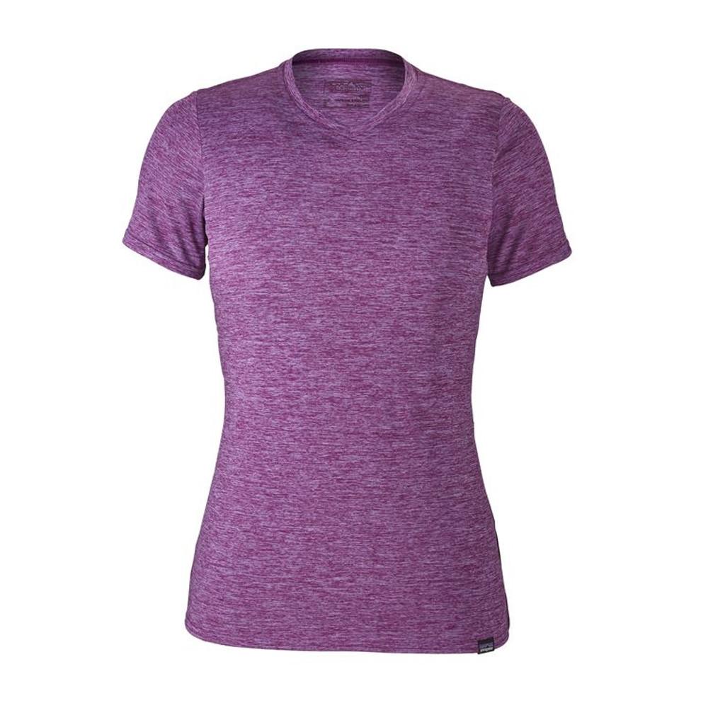 W's Cap Daily T-Shirt Light Acai - Ikat Purple X-Dye