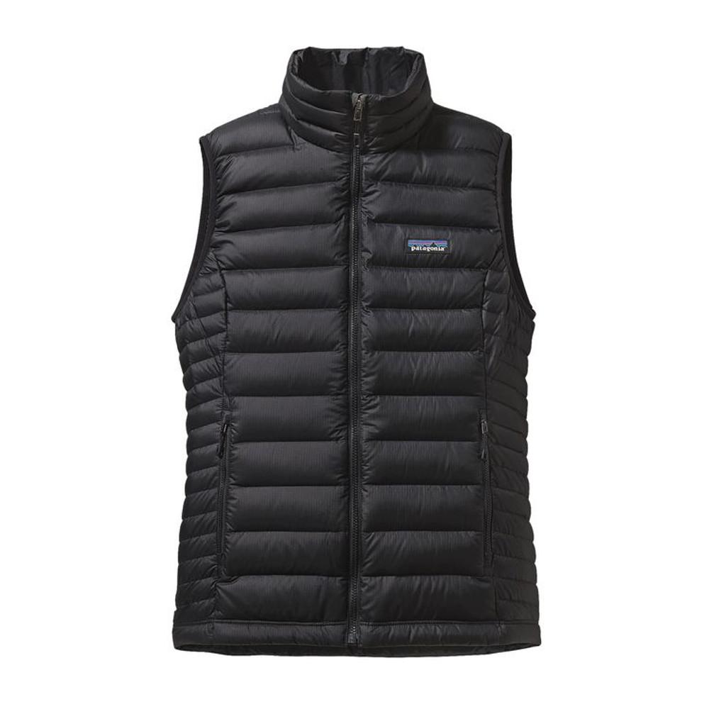 W's Down Sweater Vest Black