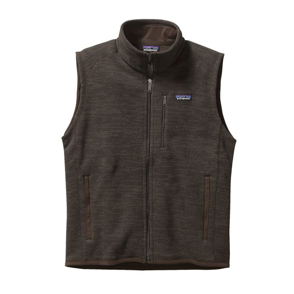M's Better Sweater Vest Dark Walnut