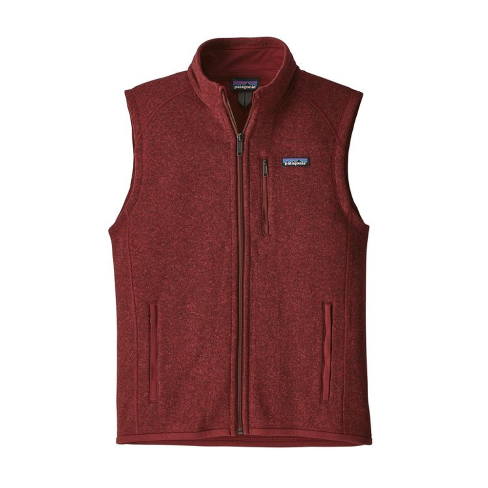 M's Better Sweater Vest Oxide Red