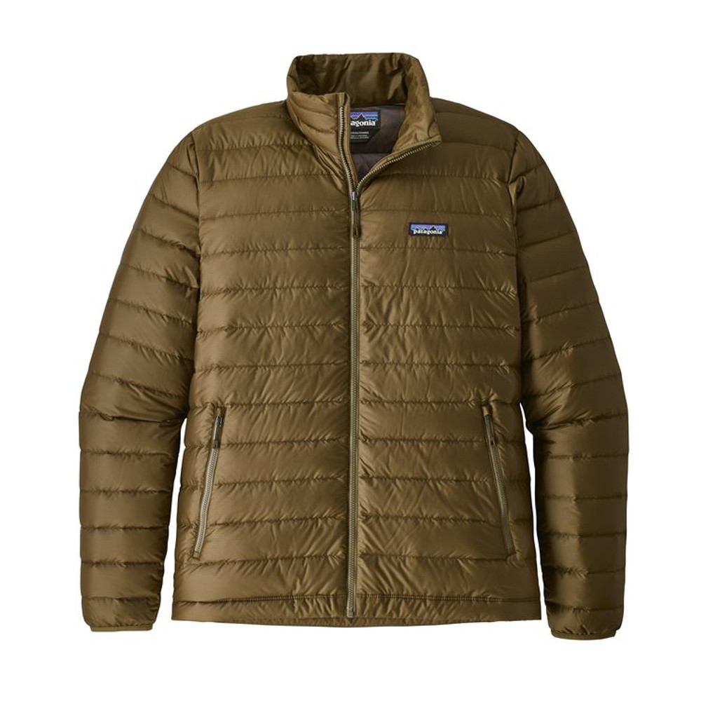 M's Down Sweater Cargo Green