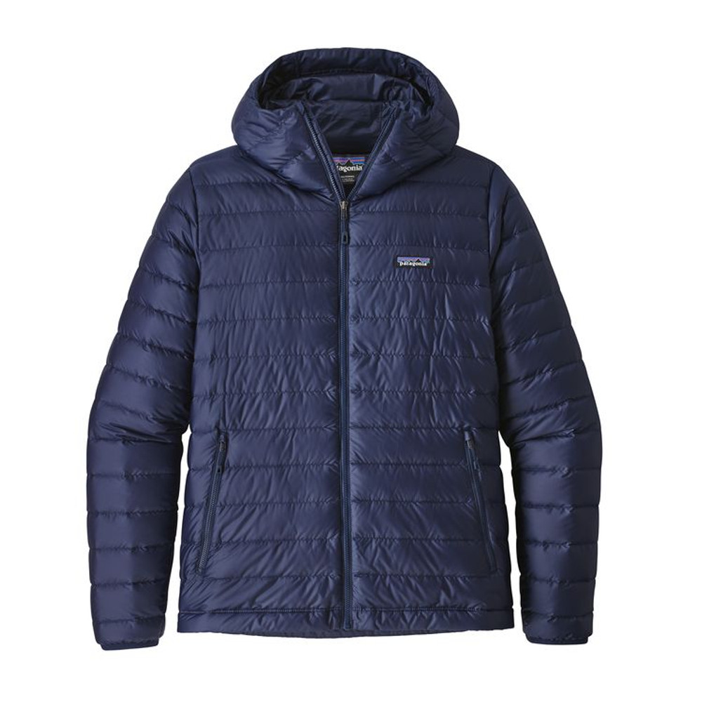 M's Down Sweater Hoody Classic Navy