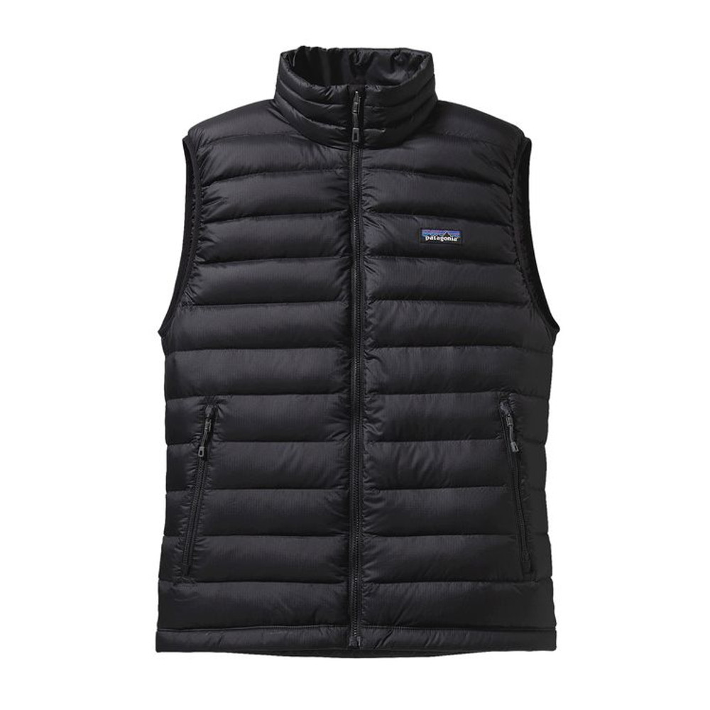 M'S DOWN SWEATER VEST BLACK