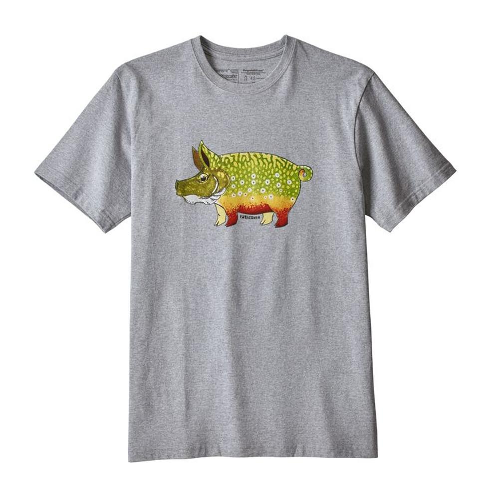 M's Fish Hog Responsibili-Tee Drifter Grey