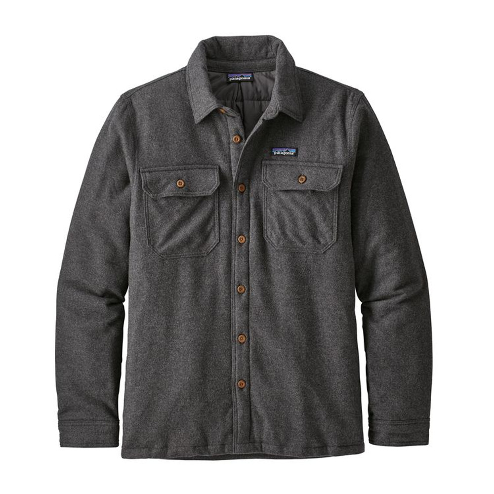 M's Insulated Fjord Flannel Jkt Forge Grey