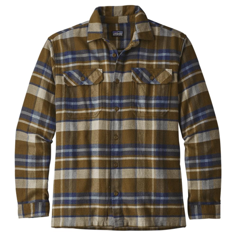 M's L/S Fjord Flannel Shirt Basin: Sediment