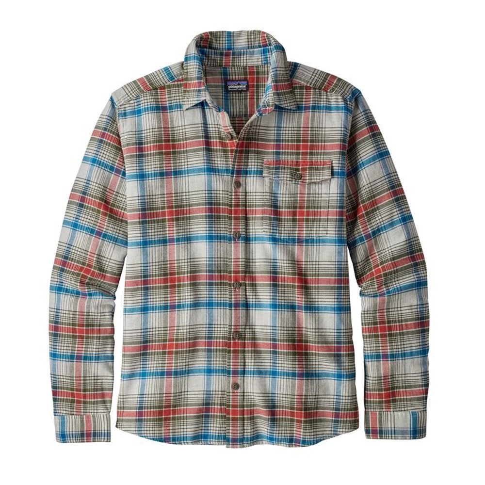 M's LW Fjord Flannel Shirt Rozman: Tailored Grey