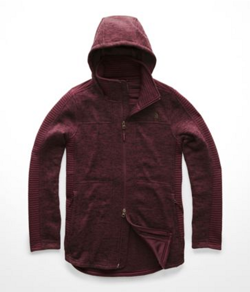 Women's Indi Hooded Parka Fig Heather