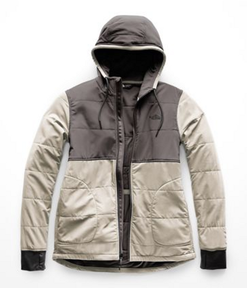 Women's Mountain Sweatshirt Full Zip Peyote Beige/Graphite G