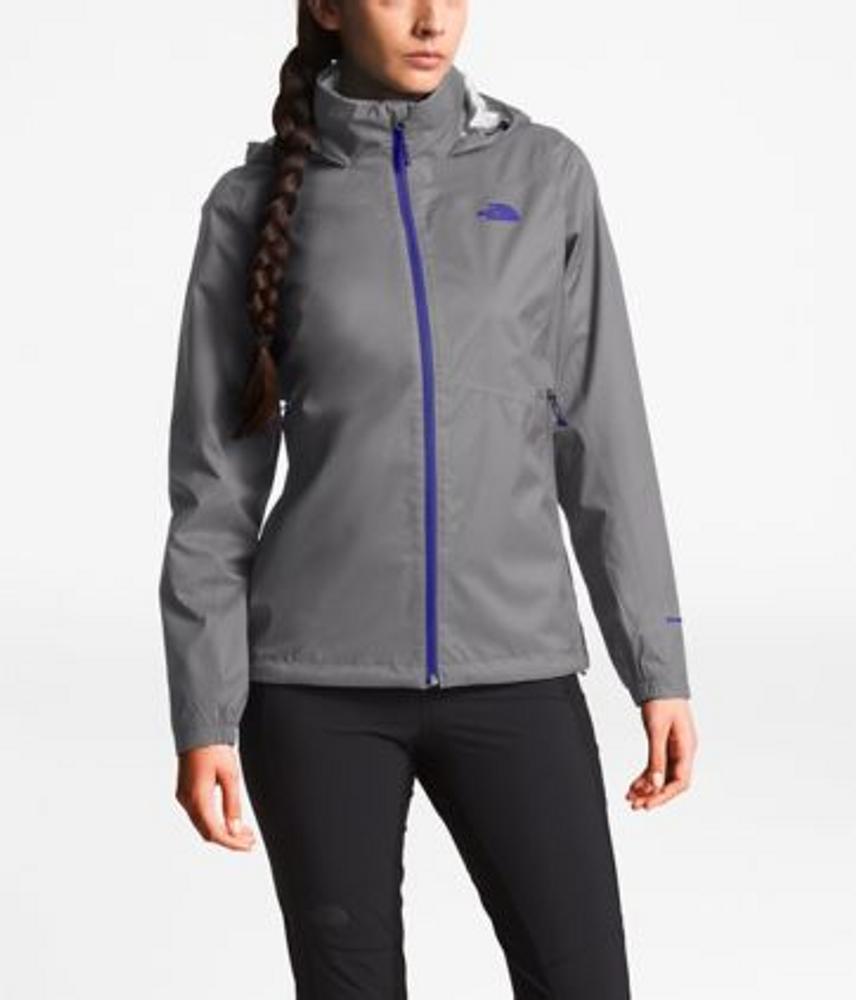 Women's Resolve Plus Jacket Mid Grey Dobby/Deep Blue