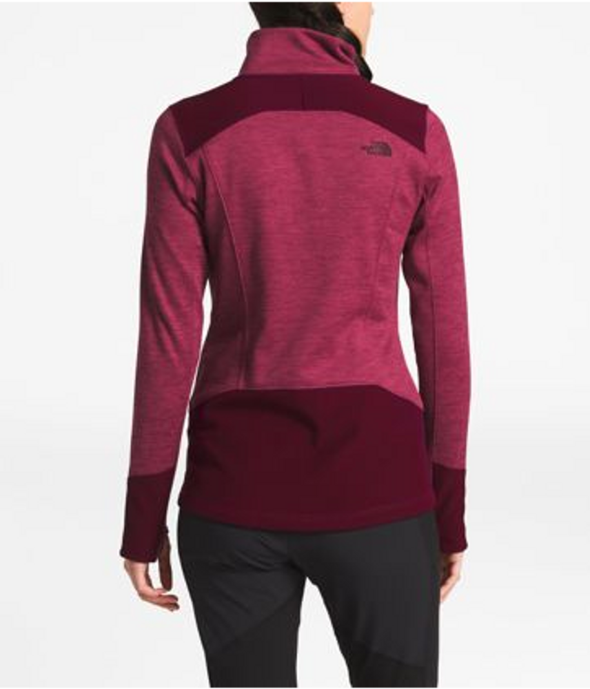 Women's Shastina Stretch Full Zip Rumba Red Heather/Fig