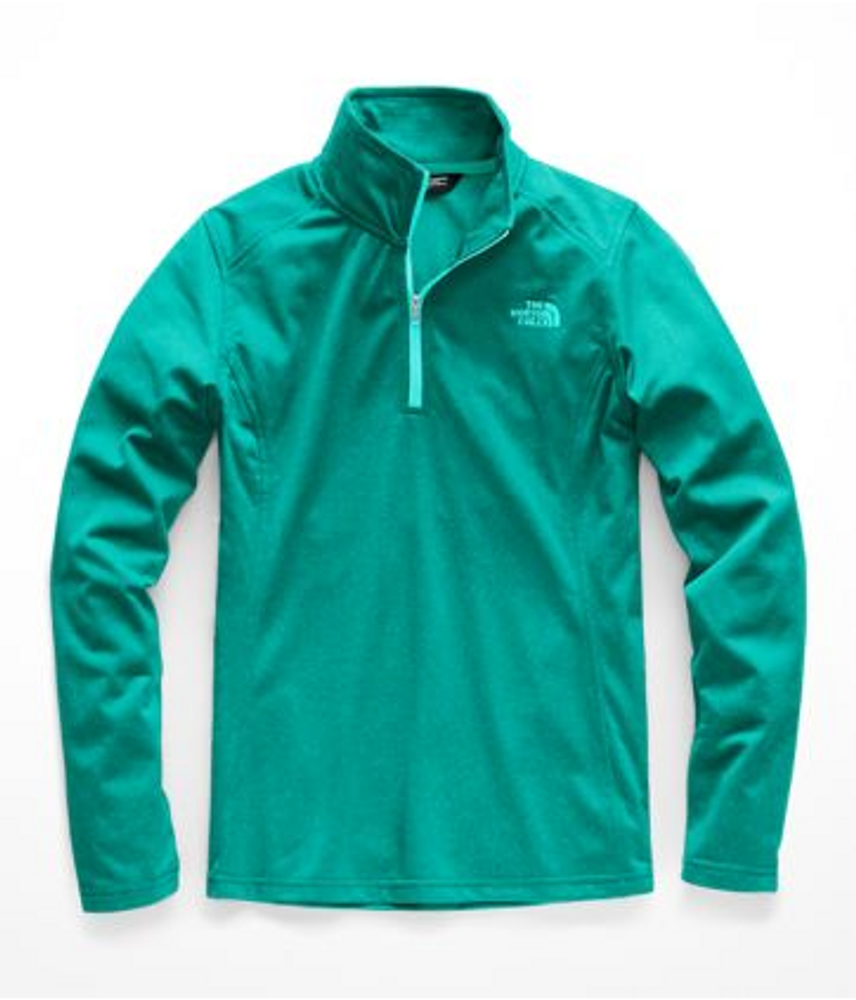 Women's Tech Glacier ¼ Zip Kokomo Green Heather
