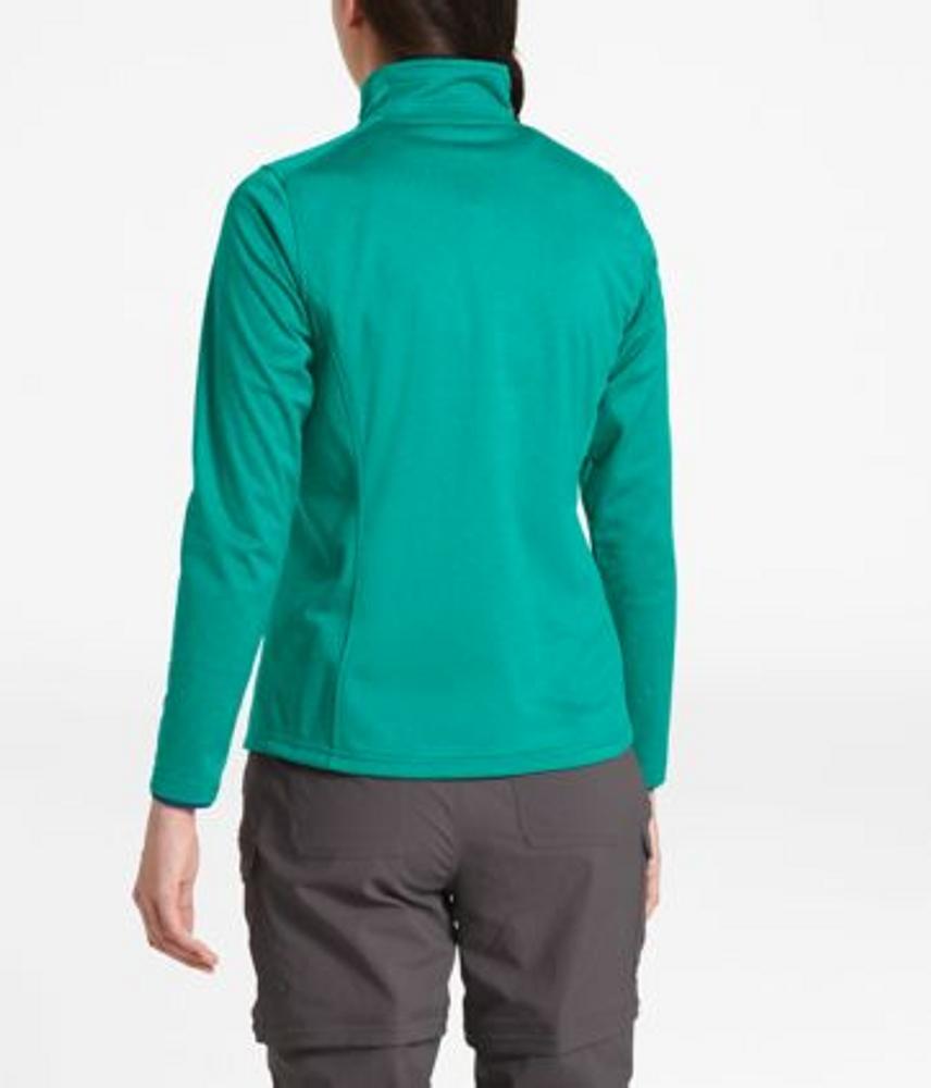 Women's Tech Glacier ¼ Zip Kokomo Green Heather