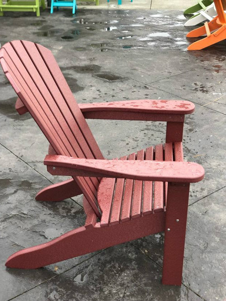 Adirondack Chair Burgundy