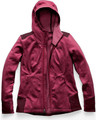 Women's Shastina Stretch Hoodie Rumba Red Heather/Fig