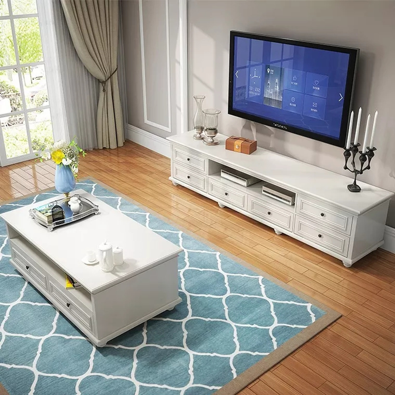 Designer TV Stands: Color Options and Styles to Explore