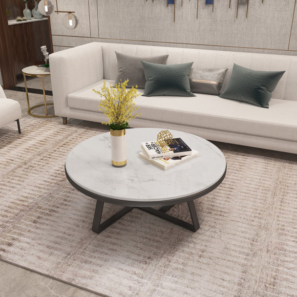 Brand new 1M natural marble Coffee Table With stainless steel legs