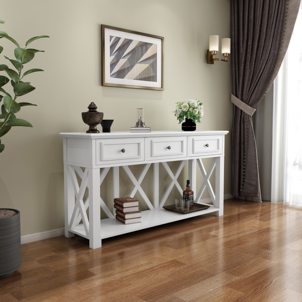 Beata 160cm wide with Drawers Console Table