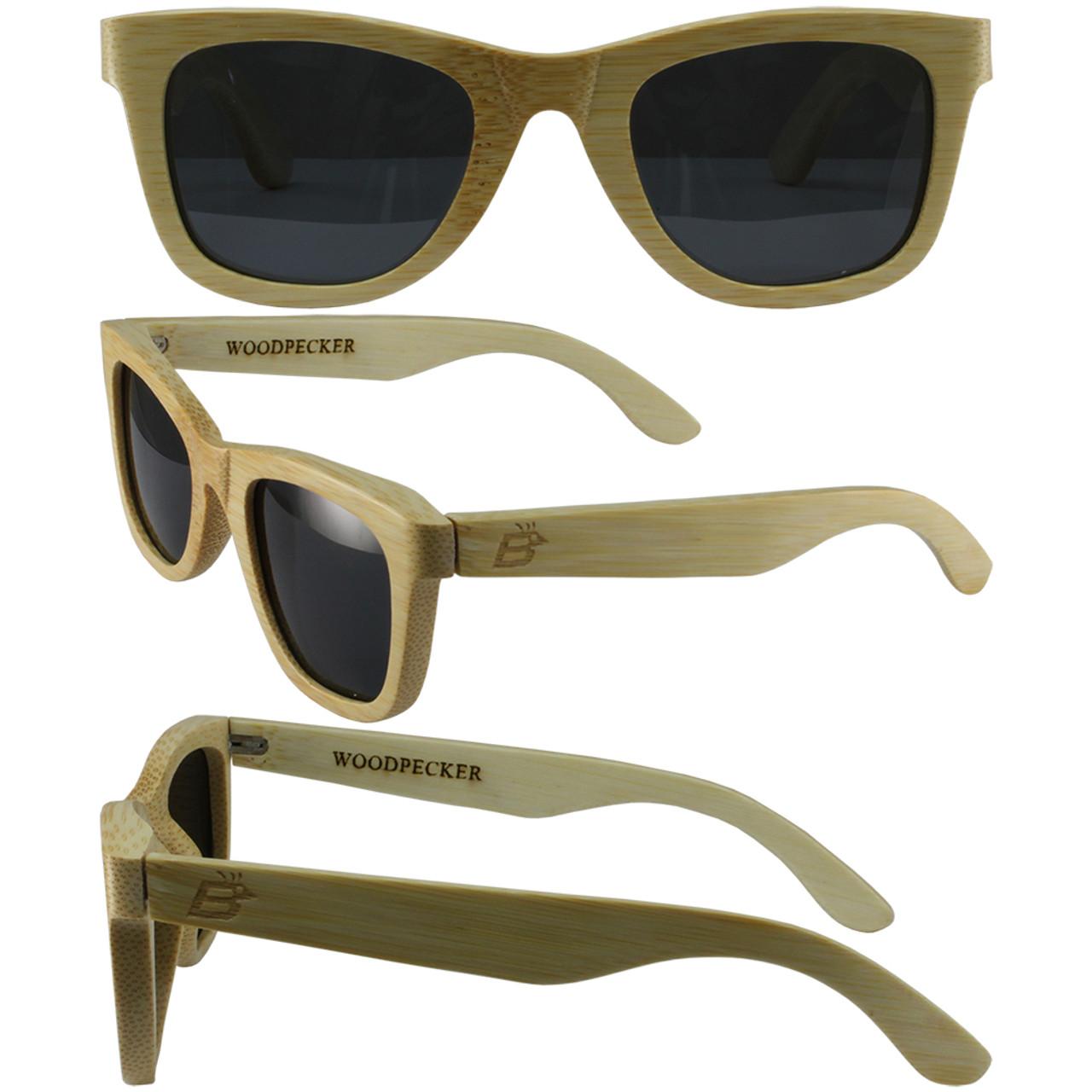 e7b08b04e1 Woodpecker Bamboo Wood - Birdz Eyewear