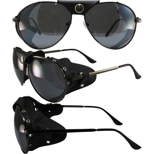 Black frame with smoke  lenses