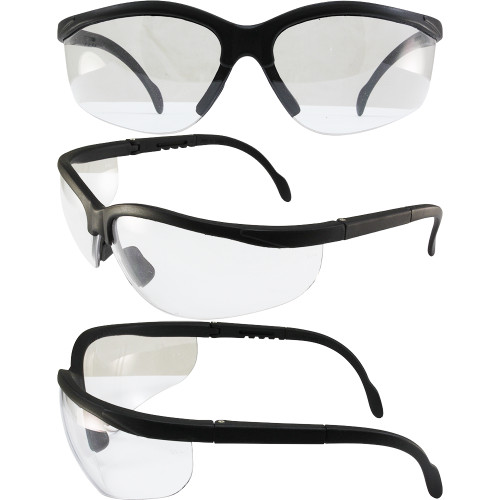 Blue Moon Safety Sunglasses Clear Lenses