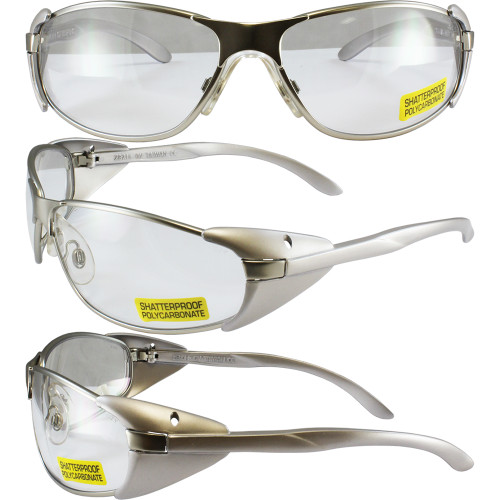 Supra Safety Glasses Clear
