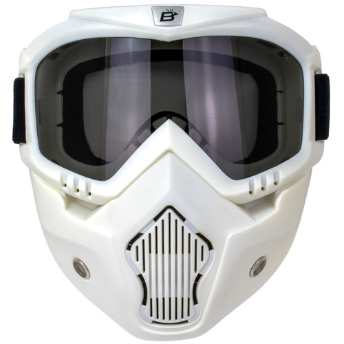 Skylark White Mask