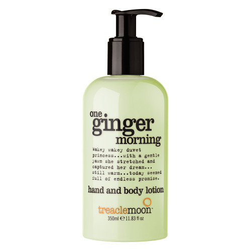 TREACLEMOON ONE GINGER MORNING HAND AND BODY LOTION 350ML