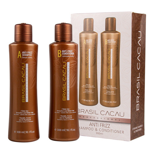 ANTI FRIZZ SHAMPOO AND CONDITIONER 300ML DUO PACK