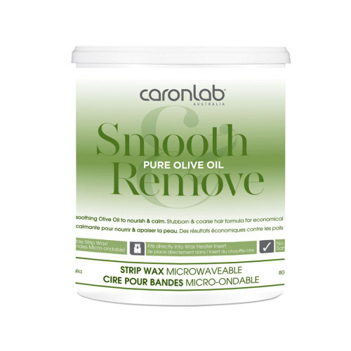 SMOOTH AND REMOVE PURE OLIVE OIL STRIP WAX 800ML