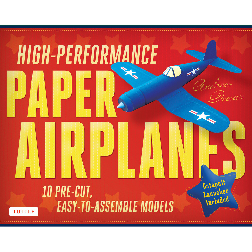High-Performance Paper Airplanes Kit