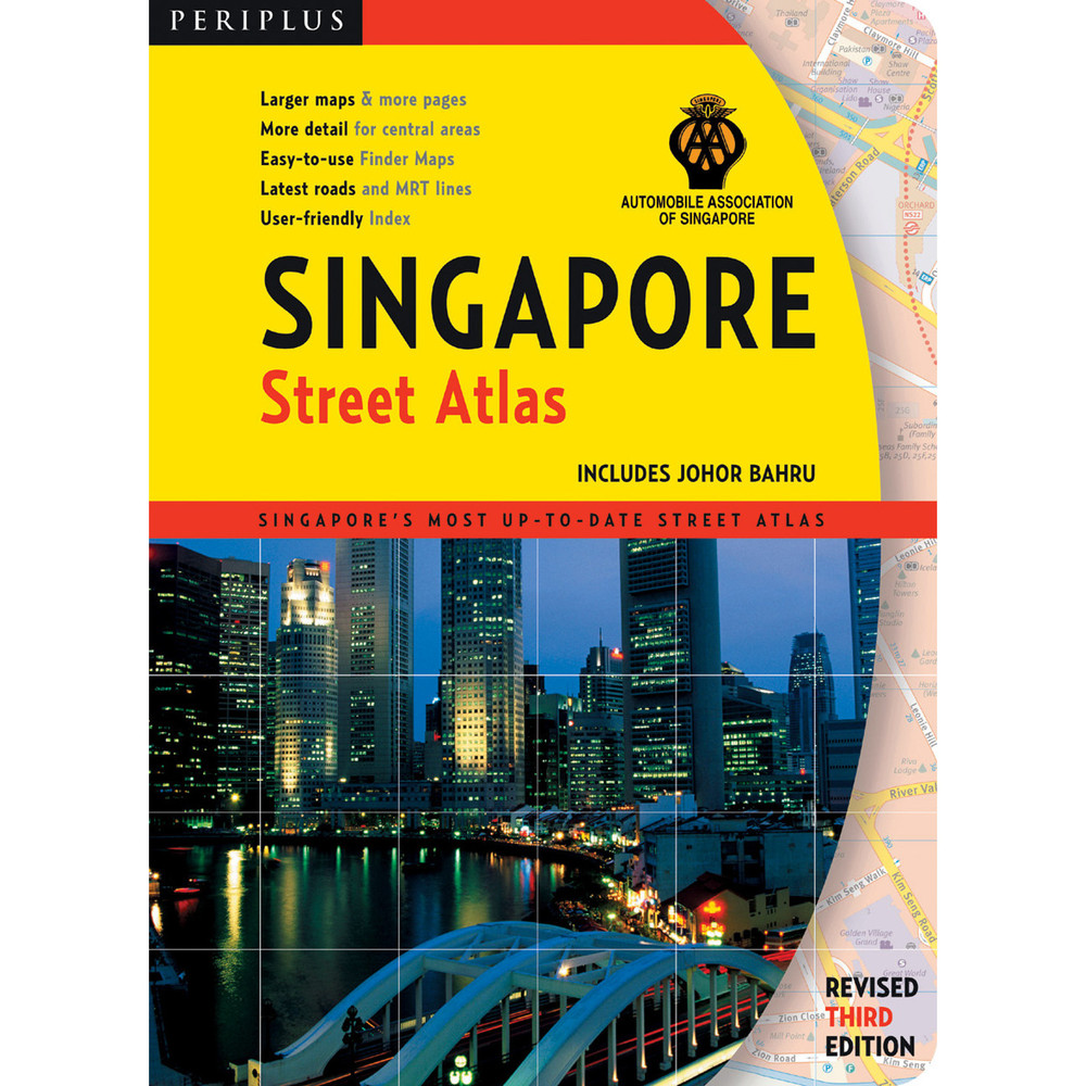 Singapore Street Atlas Third Edition