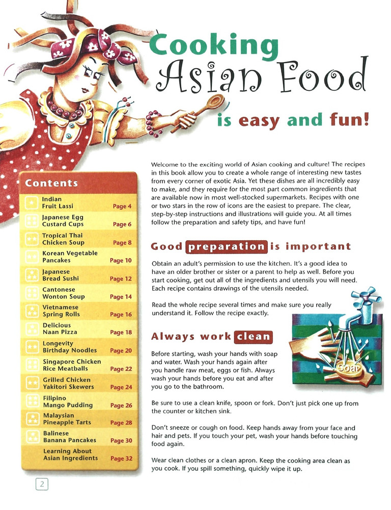 Fun with Asian Food