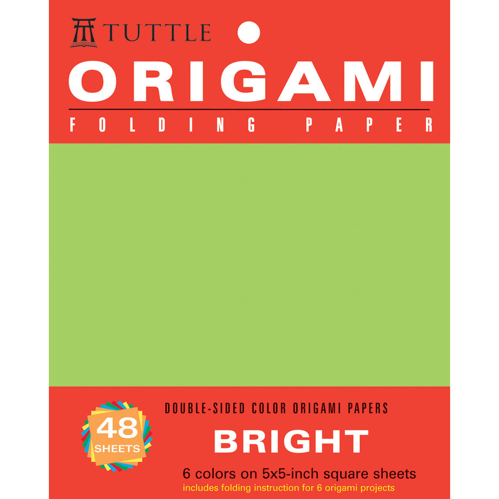 "Origami Hanging Paper - Bright - 5"" - 48 Sheets"