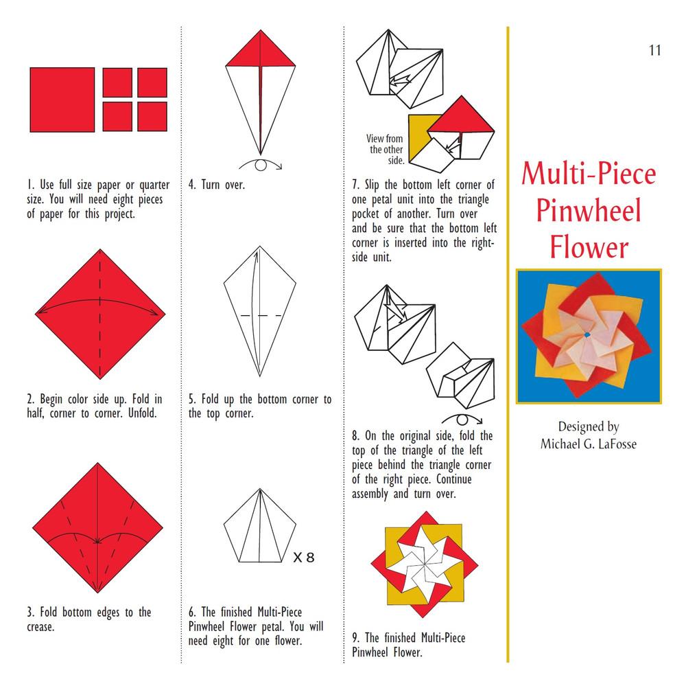 Origami Flowers Kit