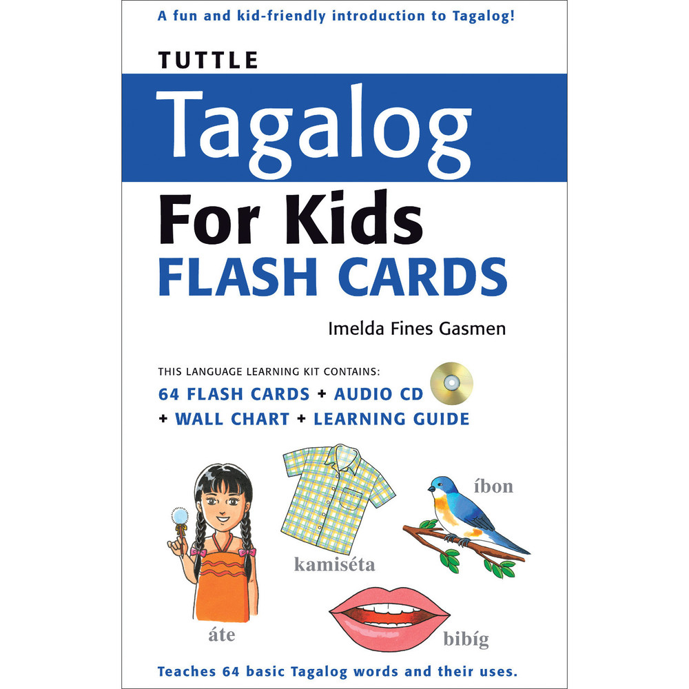 Tuttle Tagalog for Kids Flash Cards Kit