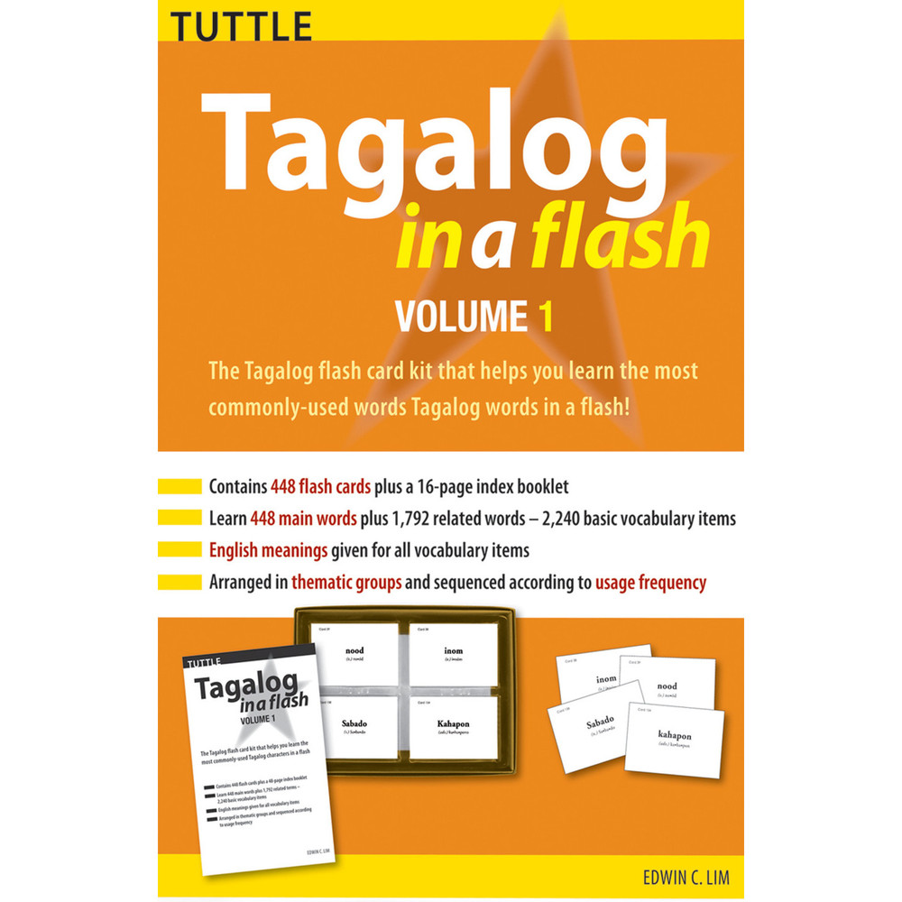 Tagalog in a Flash Kit Volume 1 (9780804839075)